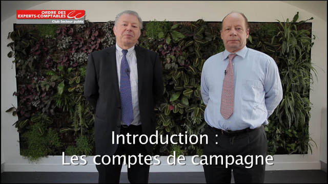Introduction - Les comptes de campagne - Ordre des Experts-Comptables