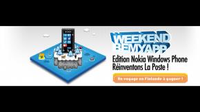 "EVENT ""Be My App"" - Week-end Nokia Windows Phone avec La Poste"