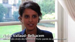 Intervention de la ministre Mme Najat Belkacem
