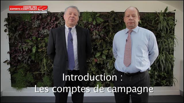 Introduction - Les comptes de campagne - Ordre des Experts-Comptables